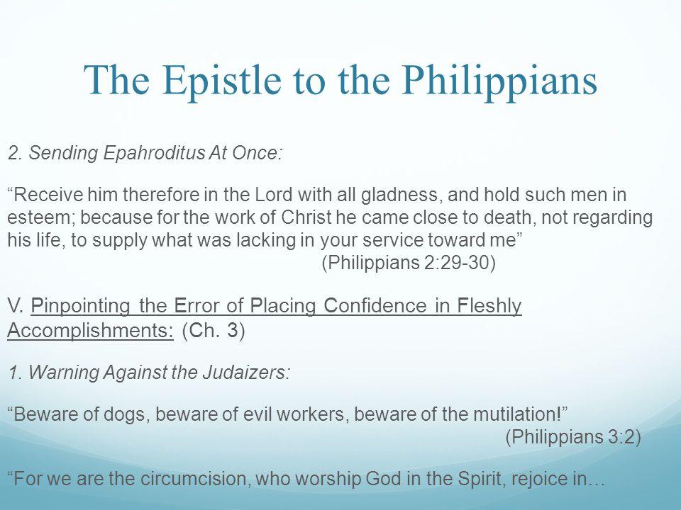 The Epistle to the Philippians 2.