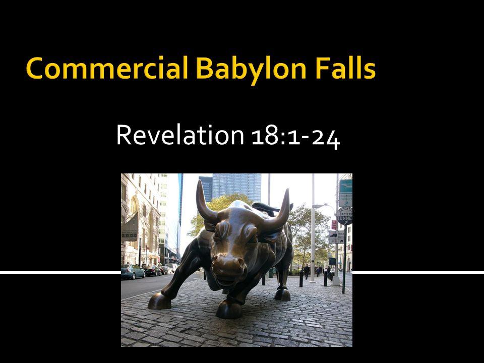 Revelation 18:1-24