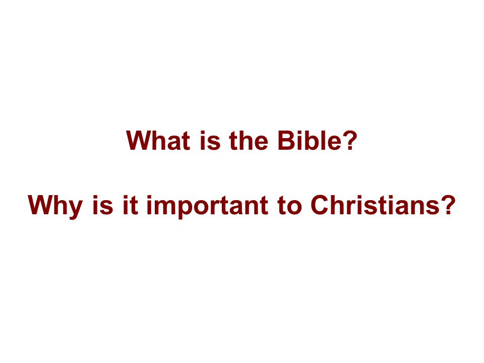 Talk about it........Do you have a Bible in your house.