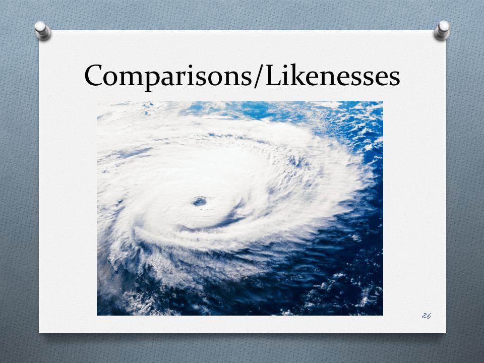 Comparisons/Likenesses 26