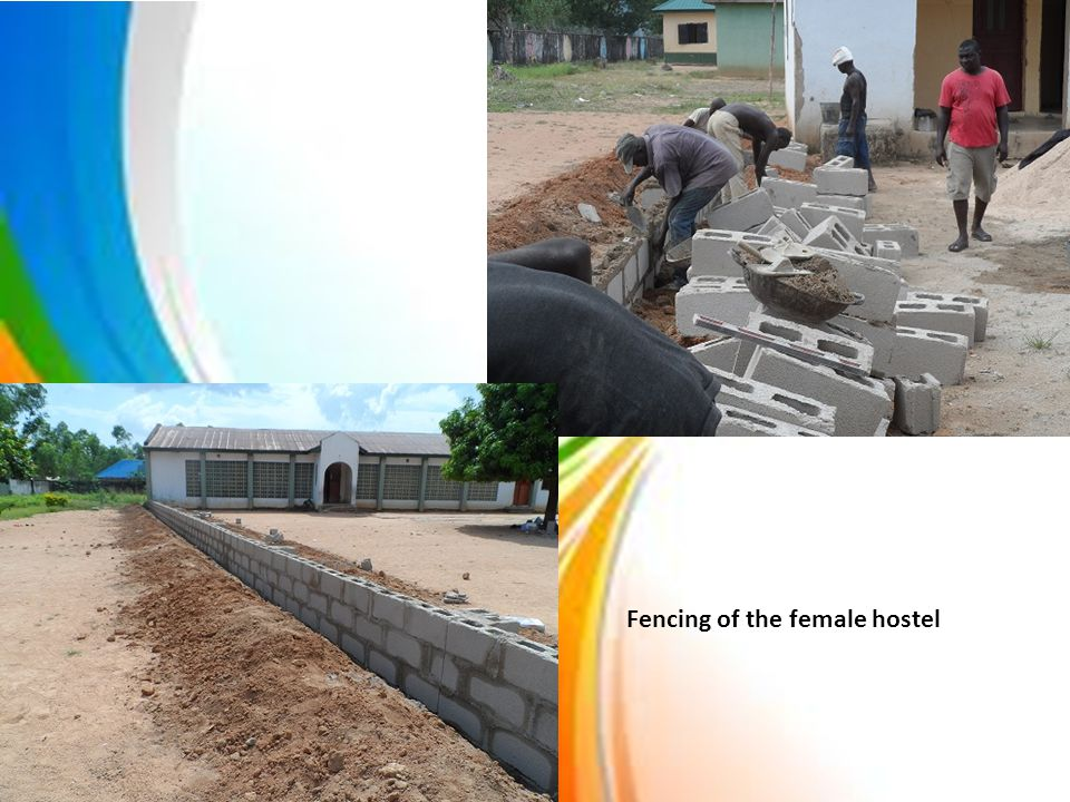 Fencing of the female hostel