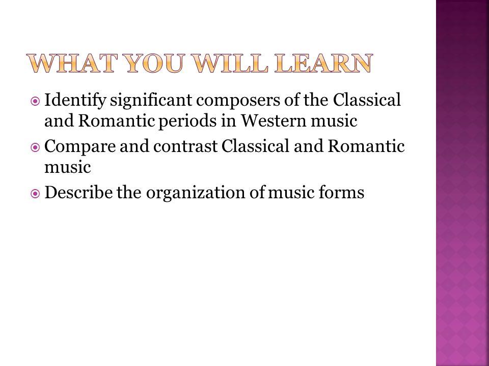  Sonata  Tutti  Sonata allegro form  Coda  Rondo  Scherzo  Romantic period  Art song  Lieder  Program music  Program symphony  Idee fixe  Tone poem