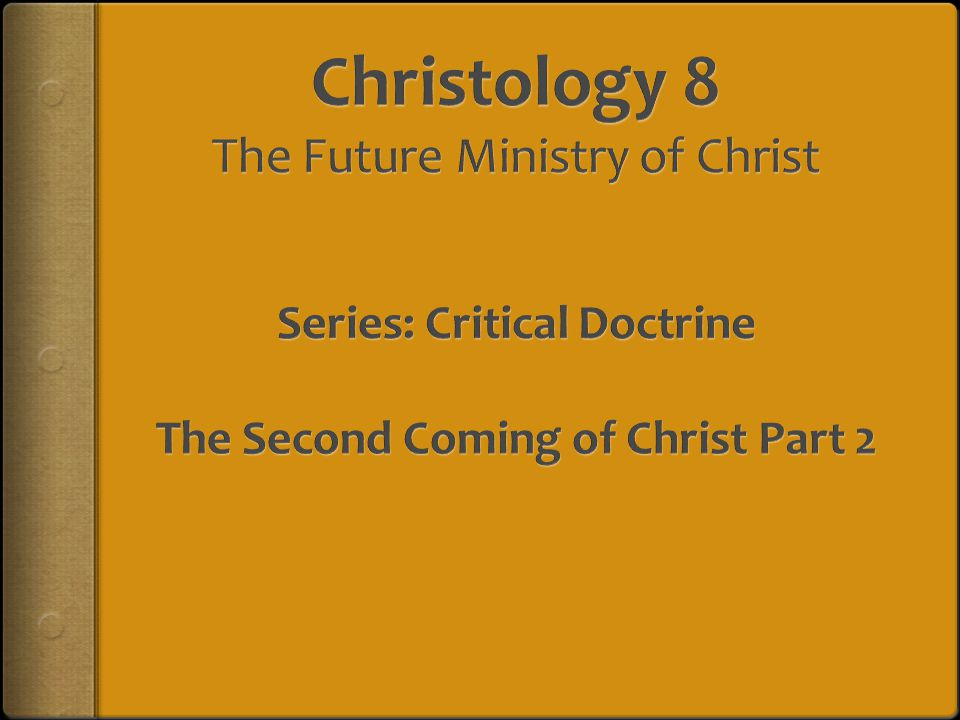 CHRISTOLOGY  The Deity of Christ  The Humanity of Christ  The incarnation  The proofs of His humanity  The Union of Deity and Humanity of Christ  The Kenosis of Christ ??.
