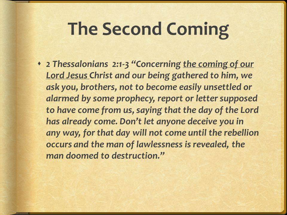 Christ's Return in OT  Why do the nations conspire and the peoples plot in vain.