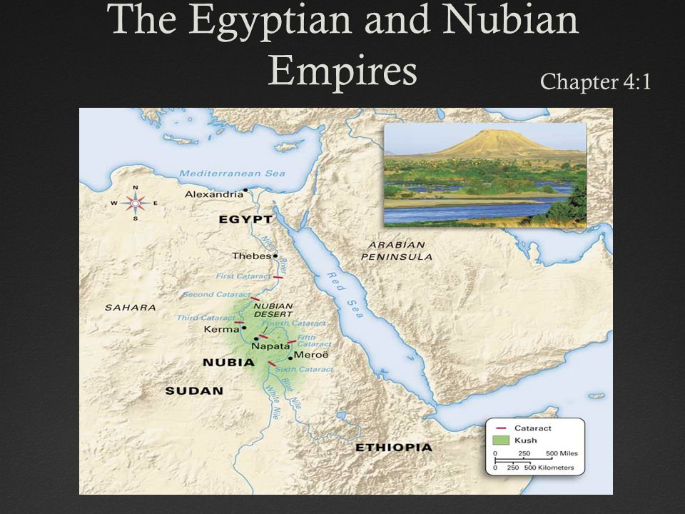 The Egyptian and Nubian Empires Chapter 4:1