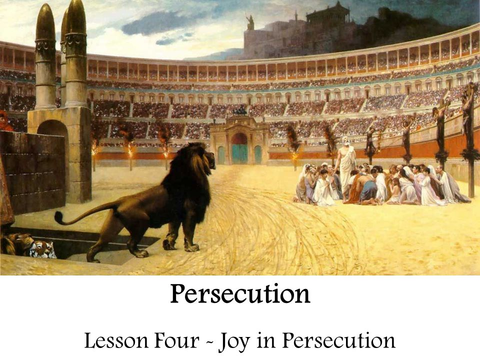 Persecution – For Review 1.