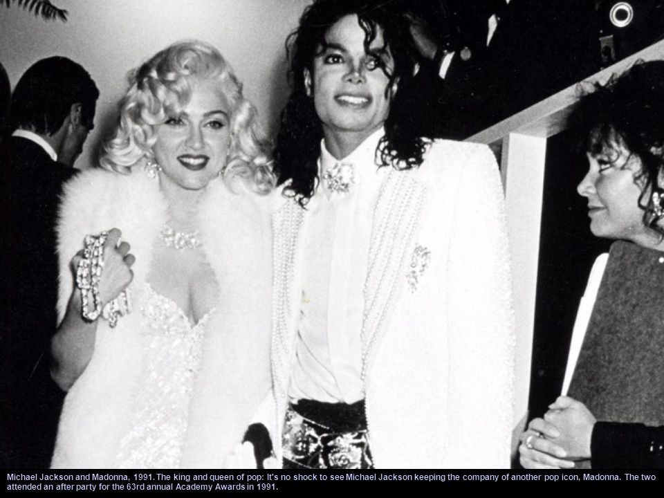 Michael Jackson and Princess Diana, 1988. A royal meeting: It's no surprise that the Princess of Wales was a fan of the King of Pop. Michael Jackson c