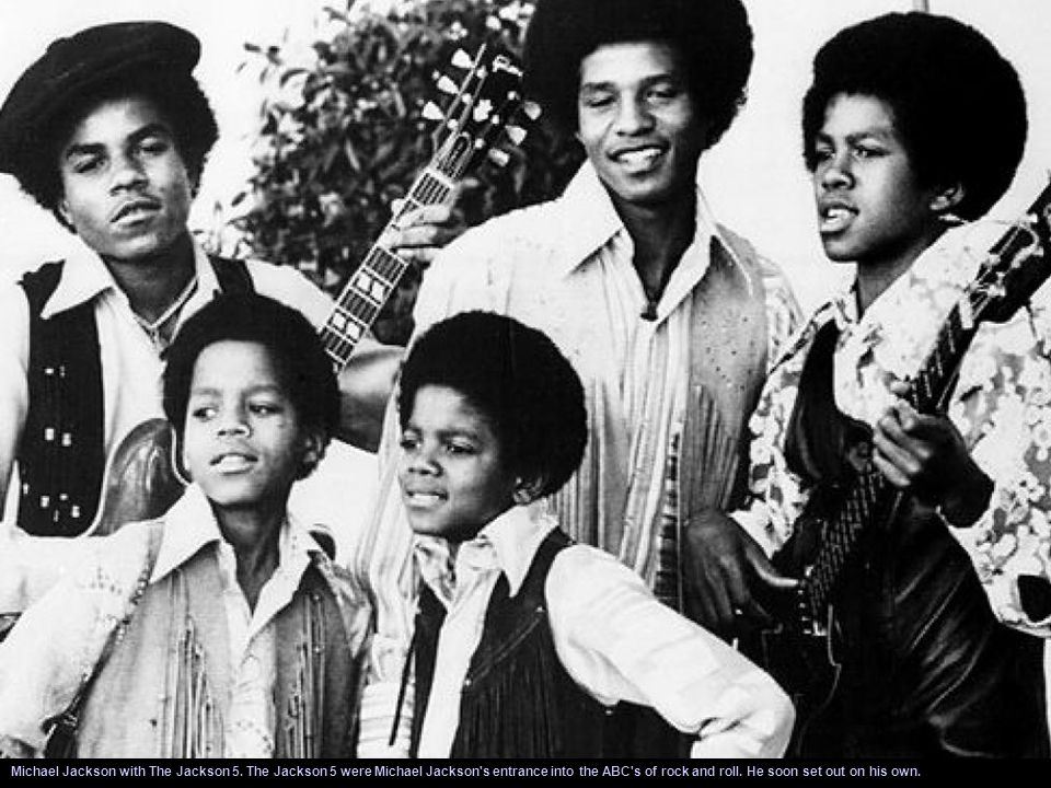 The Jackson 5 formed in 1962 and by 1968 they were signed to Motown record lable. Michael sang lead vocals for most of the band's songs and his unique