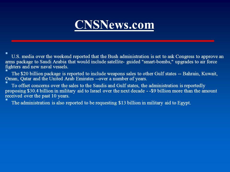 CNSNews.com ▪ U.S.