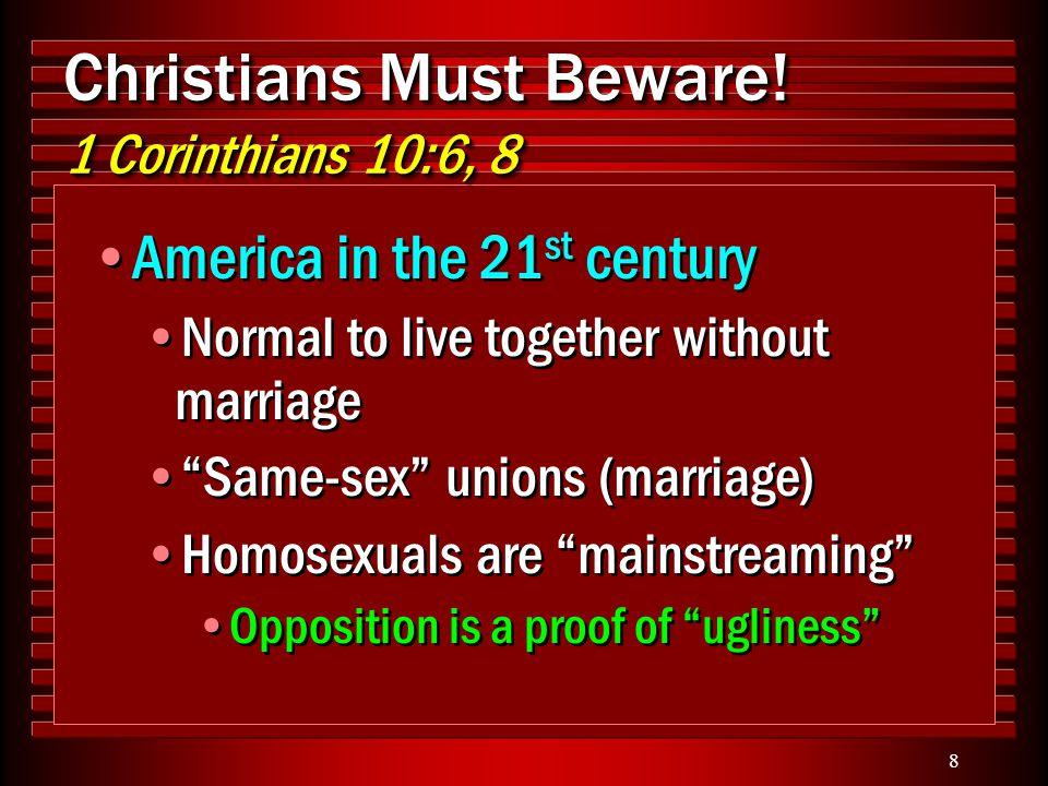 9 Christians Must Beware.