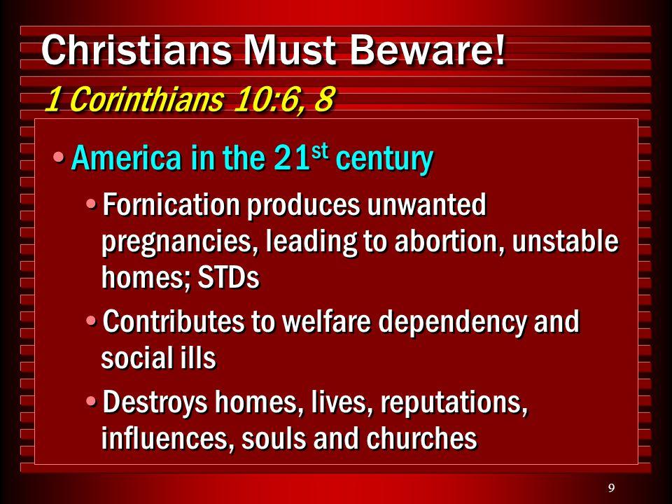 10 Christians Must Beware.