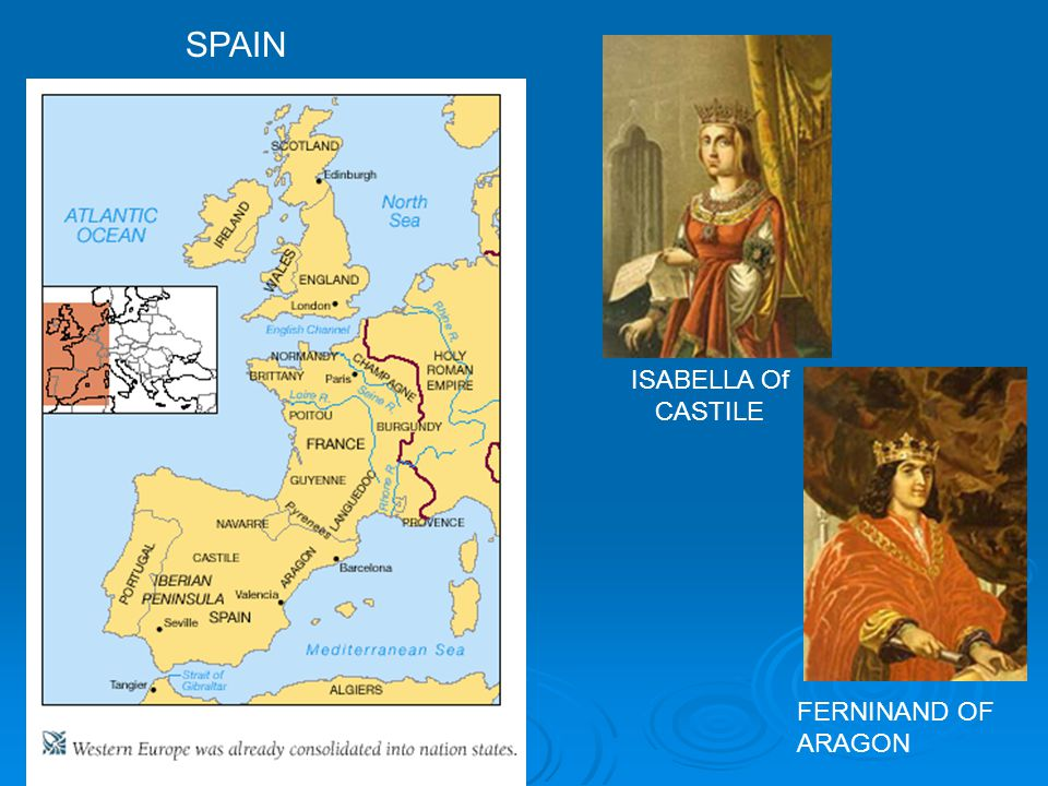 SPAIN ISABELLA Of CASTILE FERNINAND OF ARAGON