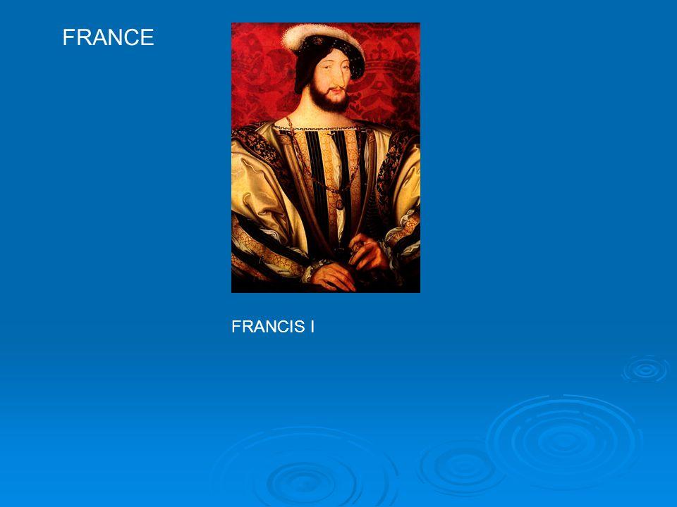 FRANCE FRANCIS I