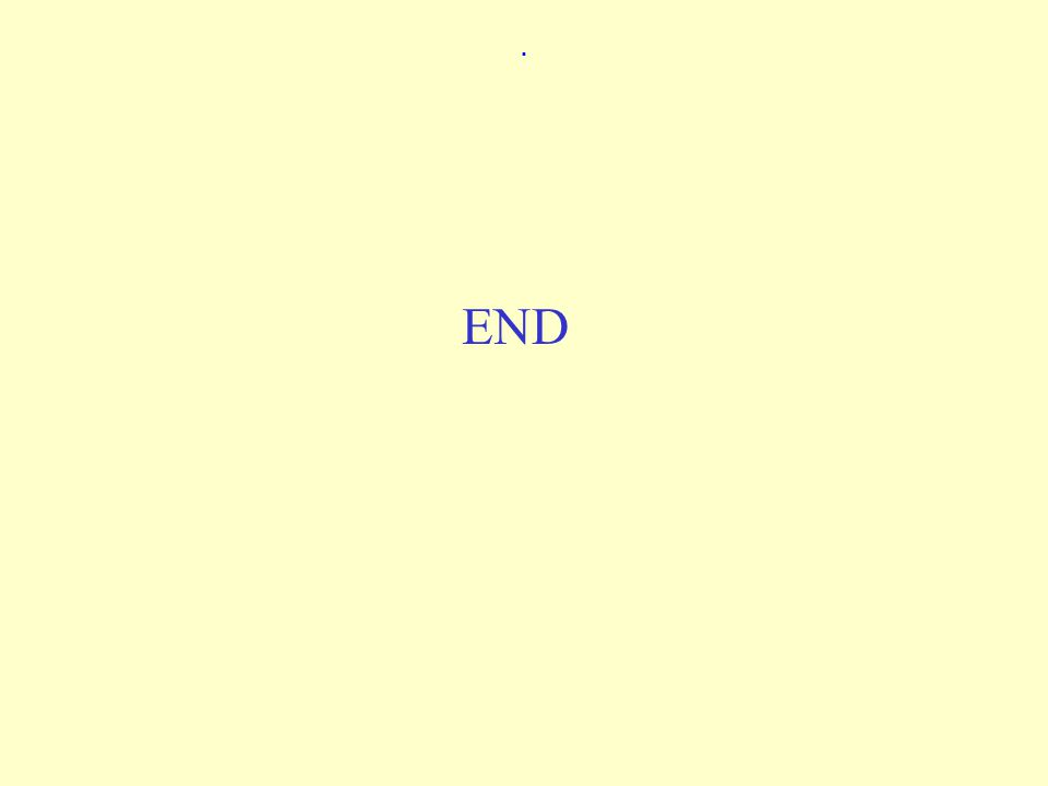 . END