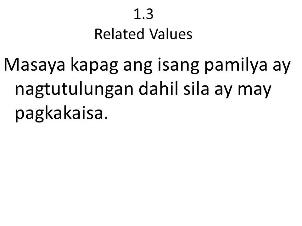 2.Word of God Ang pagkakaisa ay makikita rin natin sa ating Iisang Diyos sa tatlong persona.