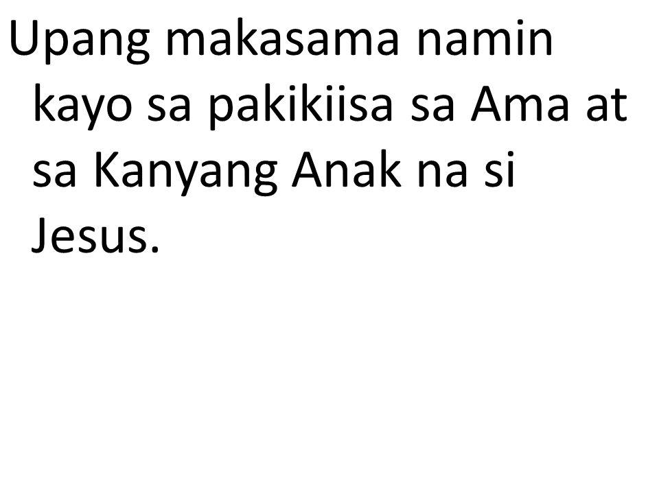 3-4 Church Teachings : Doctrine- (CCC 469) Si Jesus ay tunay na Anak ng Diyos na naging tao, ating kapatid, nang di humihiwalay sa kanyang pagka-Diyos, na ating Panginoon