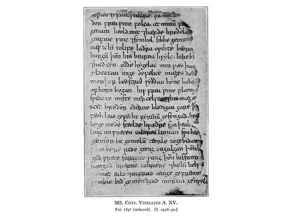Þa wæs Hroðgare heresped gyfen, wiges weorðmynd, þæt him his winemagas georne hyrdon, oðð þæt seo geogoð geweox, magodriht micel.