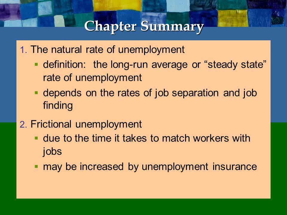 Chapter Summary 1.