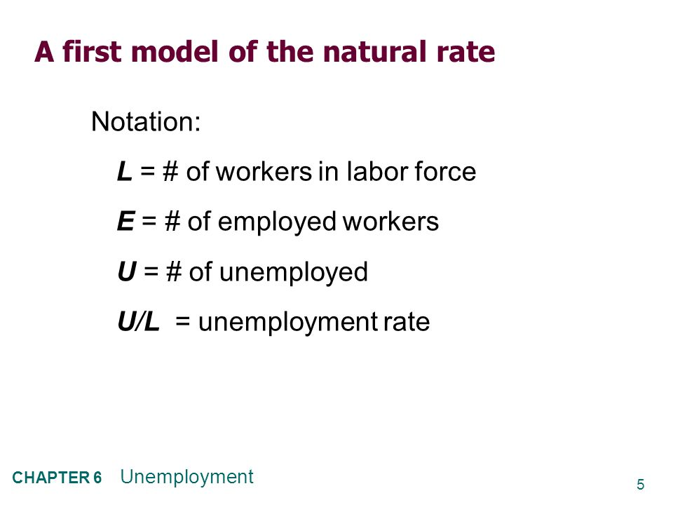 16 CHAPTER 6 Unemployment More examples of sectoral shifts  Industrial revolution (1800s): agriculture declines, manufacturing soars  Energy crisis (1970s): demand shifts from larger cars to smaller ones  Health care spending as % of GDP: 1960: 5.2%2000: 13.8% 1980: 9.1%2007: 16.2% In our dynamic economy, smaller sectoral shifts occur frequently, contributing to frictional unemployment.