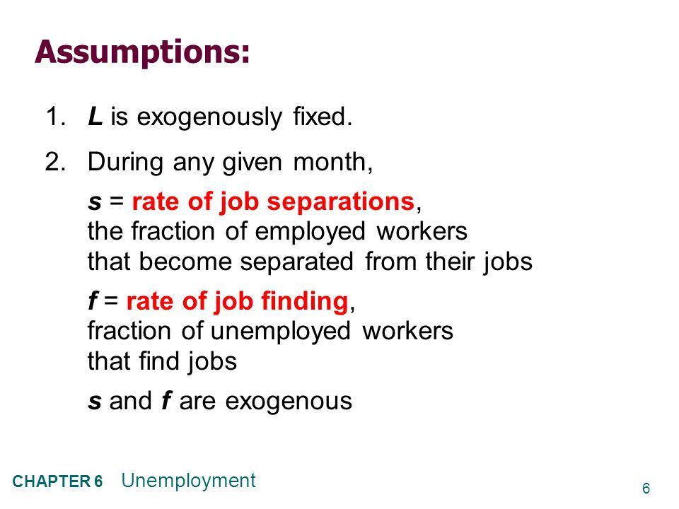 27 CHAPTER 6 Unemployment 3.