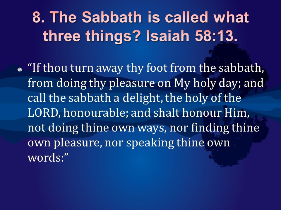  Six days shall work be done: but the seventh day is the sabbath of rest, an holy convocation; ye shall do no work therein: it is the sabbath of the LORD in all your dwellings.