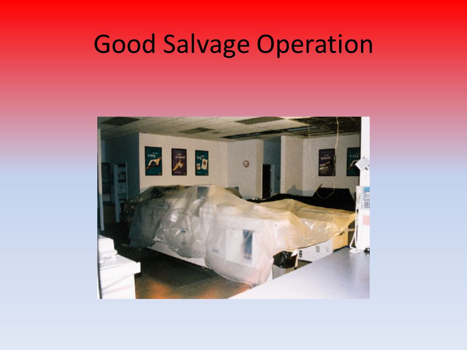 Good Salvage Operation