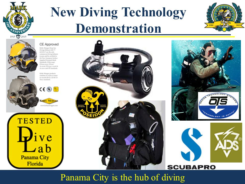 New Diving Technology Demonstration Panama City is the hub of diving