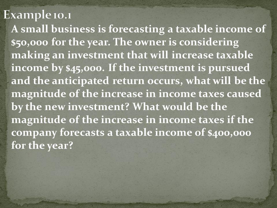 Formulas BTCF = Before Tax Cash Flow = Revenues - Expenses TI = Taxable Income = Cash Flow - Interest - Depreciation