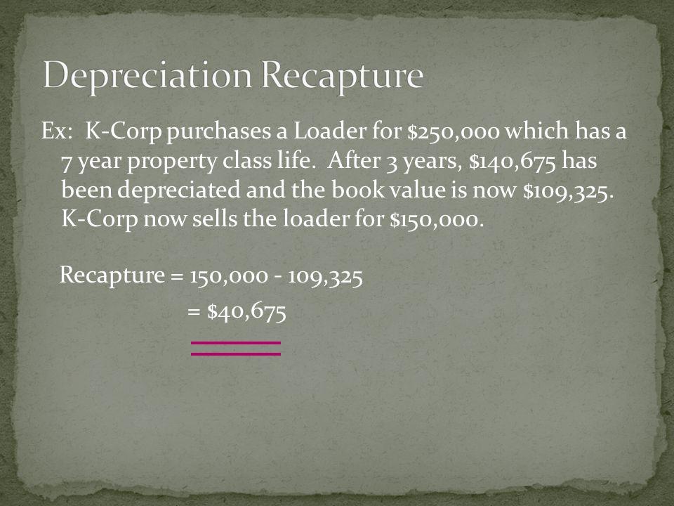 Recapture = 150,000 - 109,325 = $40,675