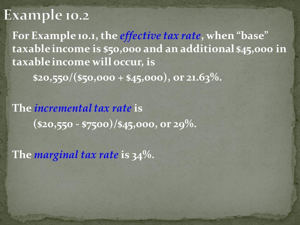 Gross Income $ 5,000,000 Interest - 1,500,000 Before Tax Cash Flow $3,500,000 Less Tax $936,400 After Tax Cash Flow $2,563,600
