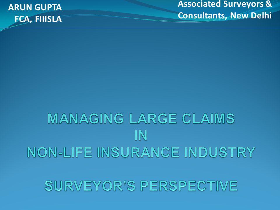 ARUN GUPTA FCA, FIIISLA Associated Surveyors & Consultants, New Delhi