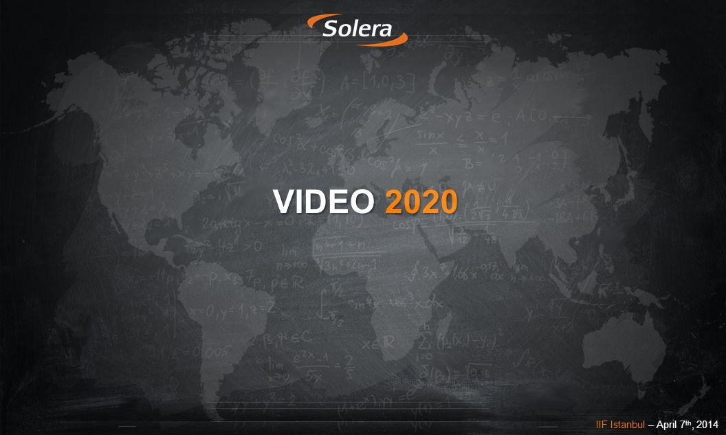 VIDEO 2020 IIF Istanbul – April 7 th, 2014