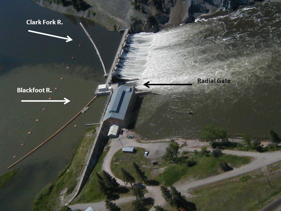 Radial Gate Blackfoot R. Clark Fork R.