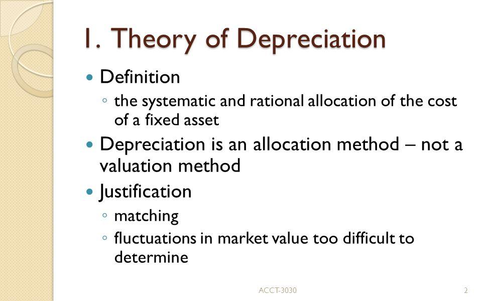4. Depreciation Methods ACCT-303013