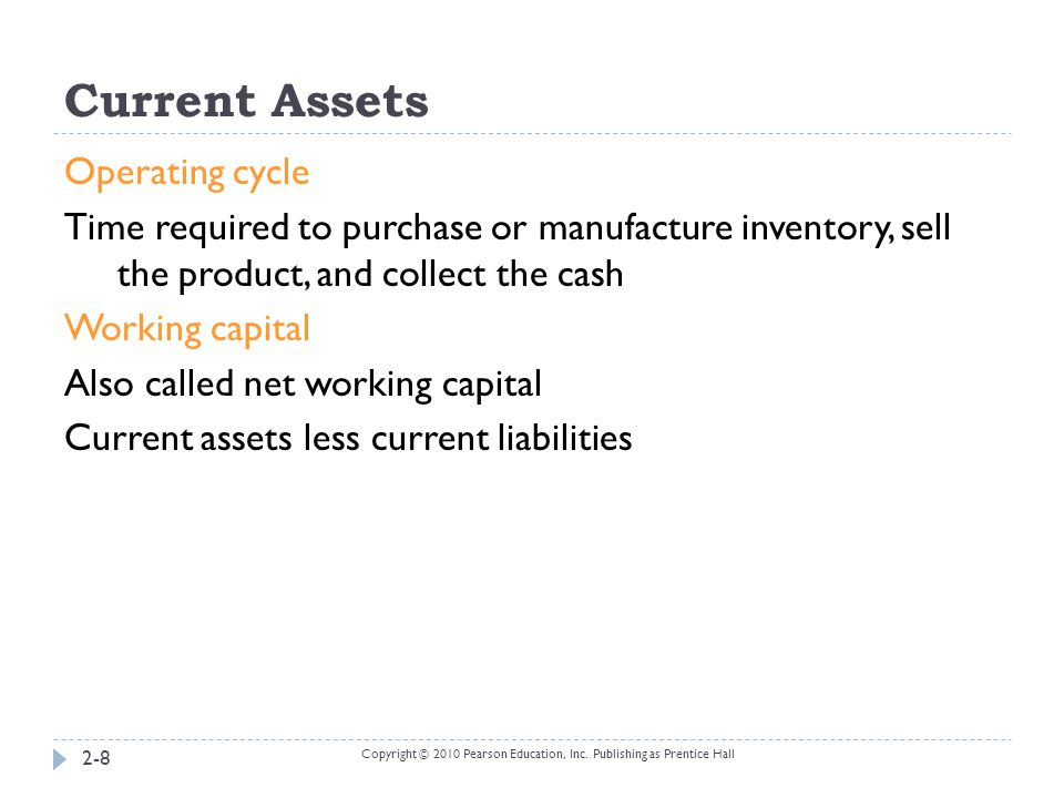Cash and Cash Equivalents  Short-term, highly liquid investments that are:  Readily convertible to a known cash amount.