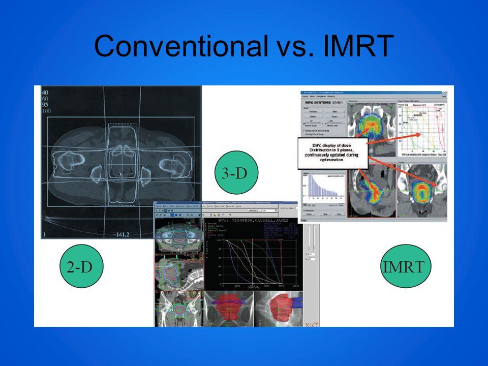 Conventional vs. IMRT