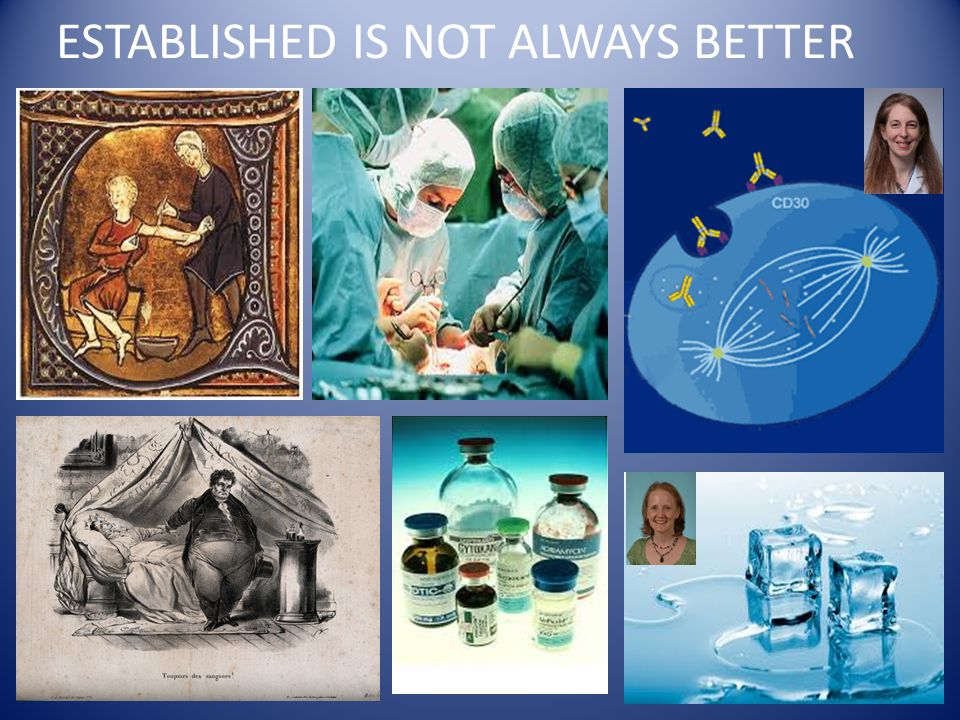 ESTABLISHED IS NOT ALWAYS BETTER