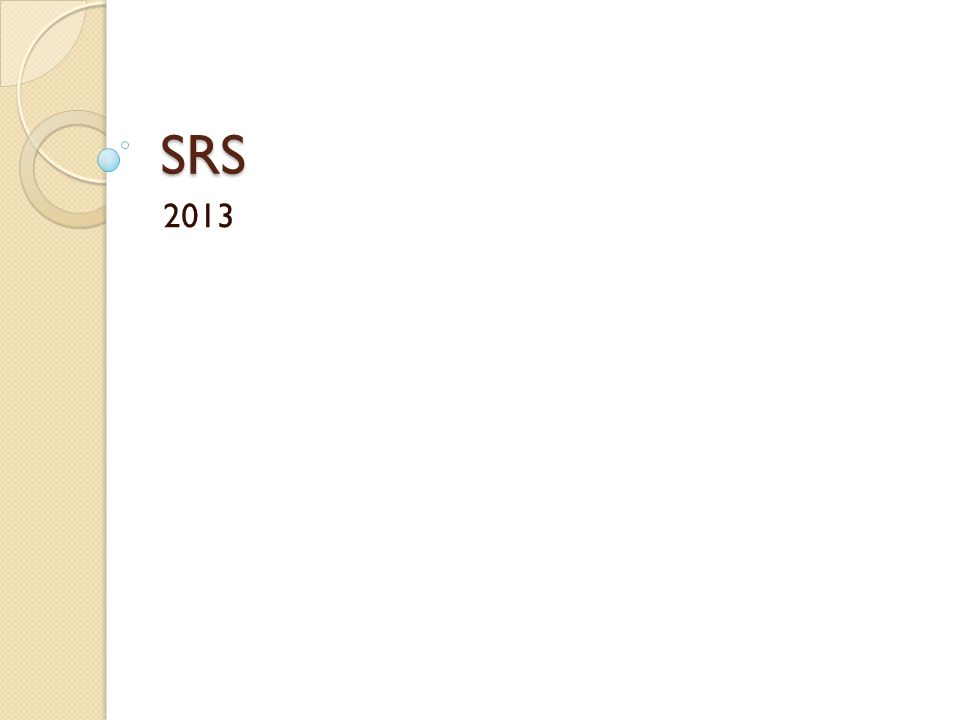 What is treated with SRS.