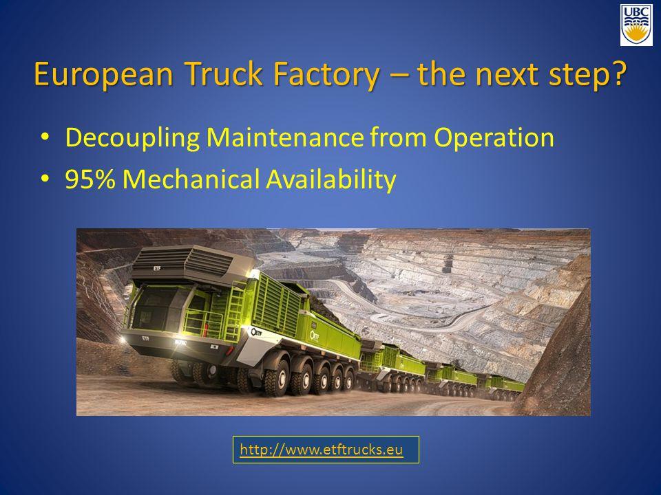 European Truck Factory – the next step.
