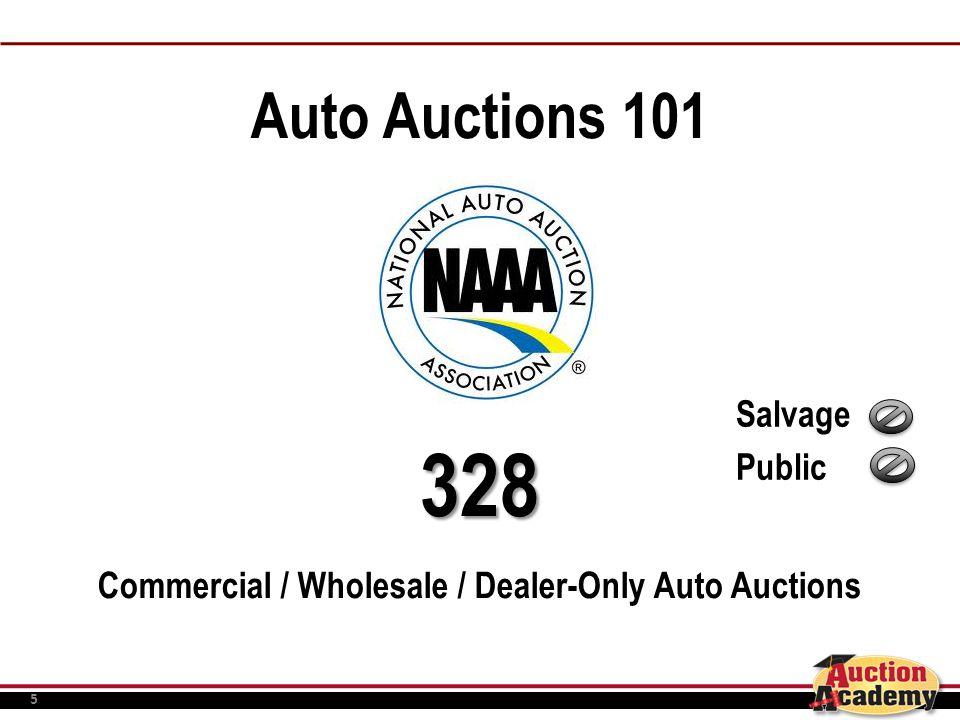 5 Auto Auctions 101328 Commercial / Wholesale / Dealer-Only Auto Auctions Salvage Public