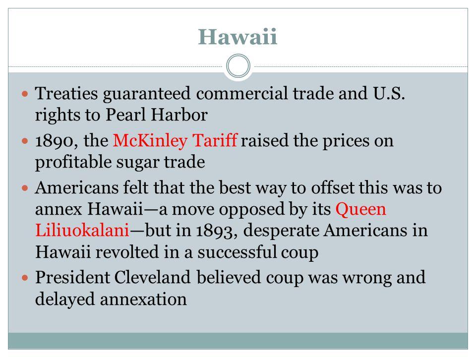 Americans overthrow Hawaiian monarchy On the Hawaiian Islands, a group of American sugar planters under Sanford Ballard Dole overthrow Queen Liliuokalani, the Hawaiian monarch, and establish a new provincial government with Dole as president.