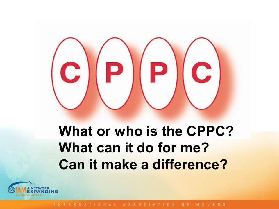 What or who is the CPPC What can it do for me Can it make a difference