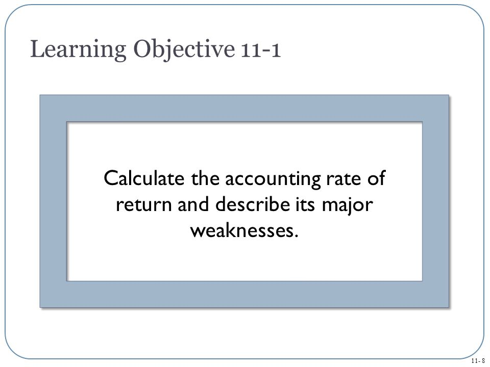 11- 39 Use the profitability index to prioritize independent capital investment projects.