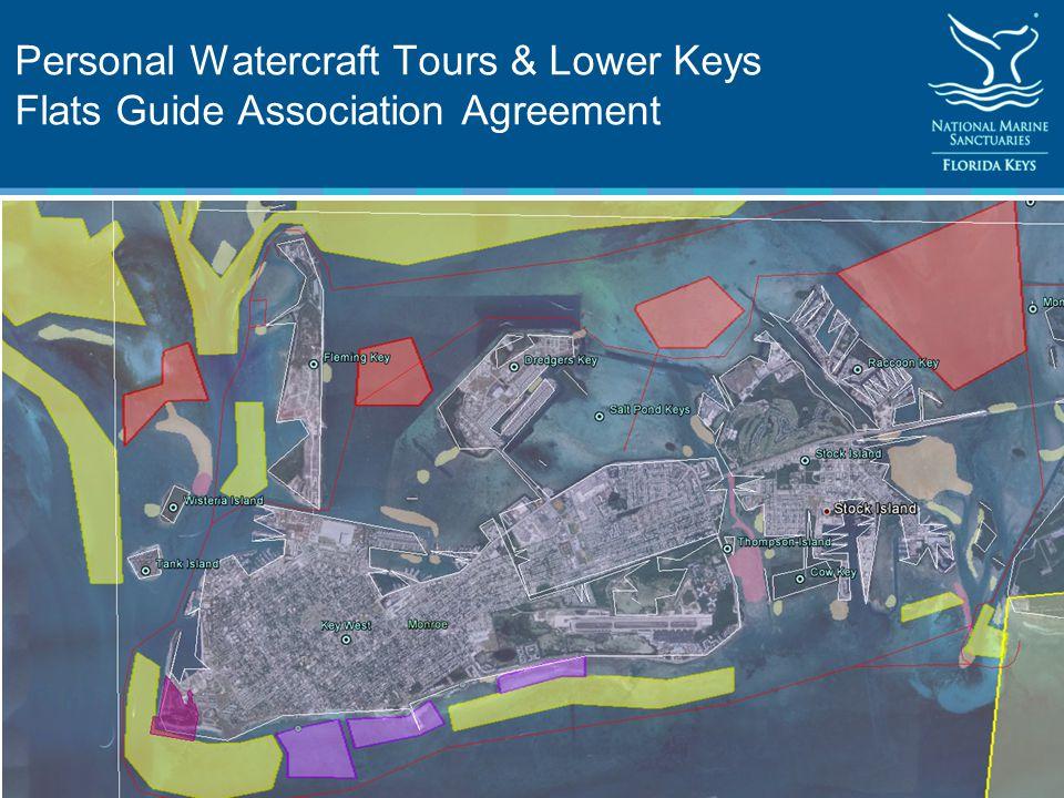 Personal Watercraft Tours & Lower Keys Flats Guide Association Agreement