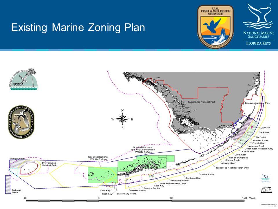 Existing Marine Zoning Plan