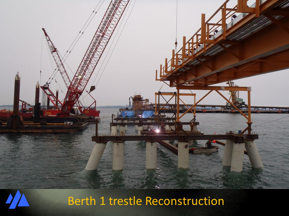 Berth 1 trestle Reconstruction