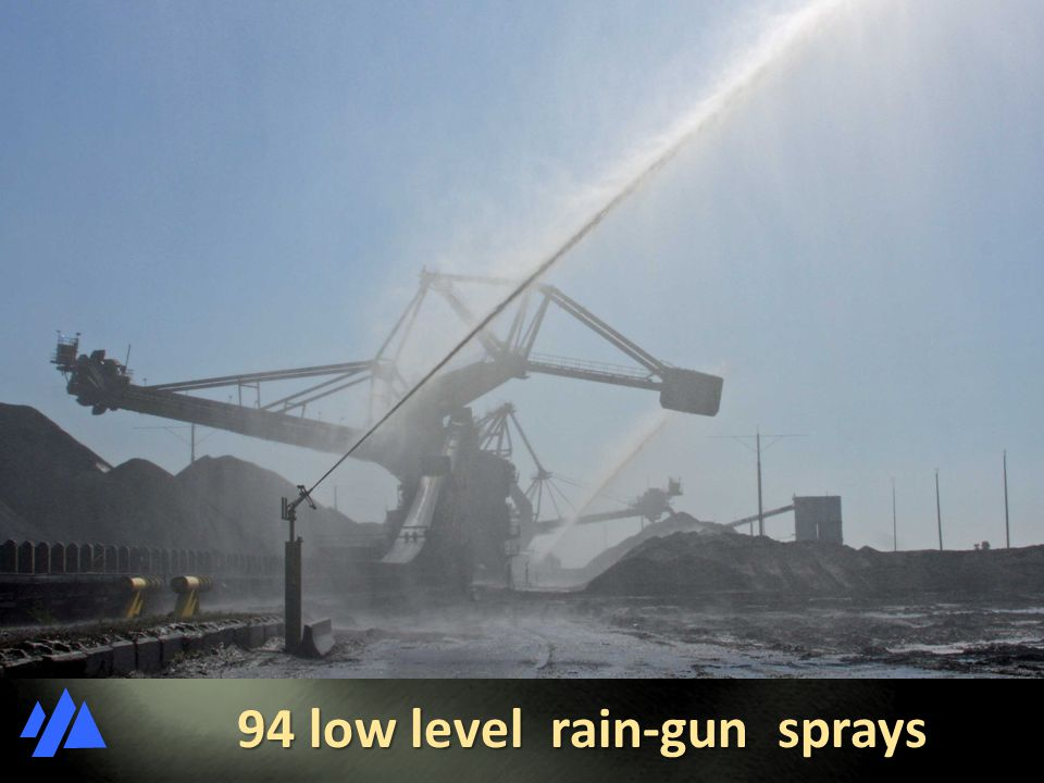 94 low level rain-gun sprays