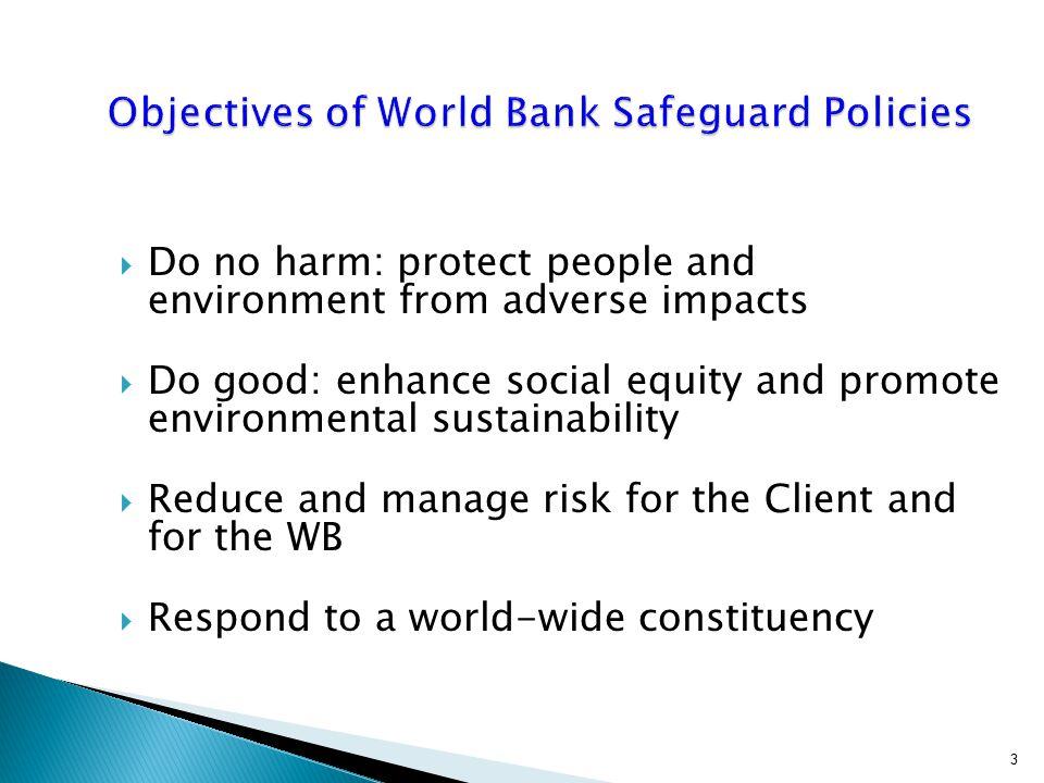  Resettlement Policy Framework (RPF)  Resettlement Action Plan (RAP)  Process Framework (PF) Separate Presentation on Resettlement Instruments 44