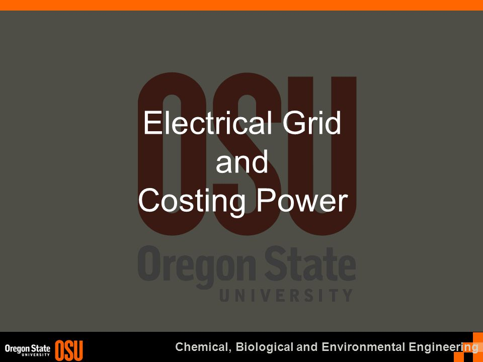 Advanced Materials and Sustainable Energy Lab CBEE Optimizing Power Generation Mix How do you find out the optimal mix of generation.