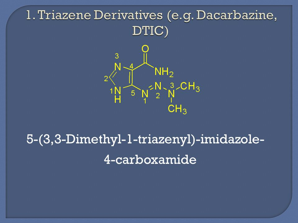 5-(3,3-Dimethyl-1-triazenyl)-imidazole- 4-carboxamide